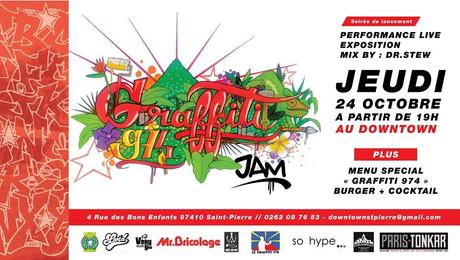 Soirée de lancement : Graffiti 974 JAM