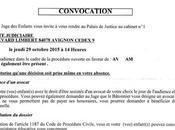 fausse convocation police