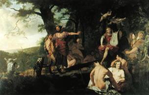 Lairesse 1665-70 The_Judgement_of Midas Cosham Court collection