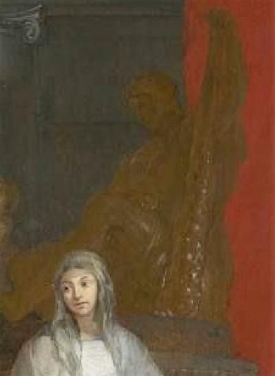 lairesse 1655-68 der-tempel-der-ehre1 alte pinakothek Munich detail A