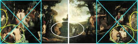 Lairesse 1665-70 The_Judgement Paris Midas schema