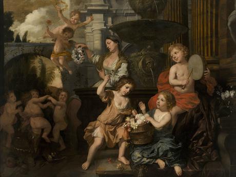 Lairesse 1668 ca Le printemps de la vie Museo Nacional de Bellas Artes La Havane