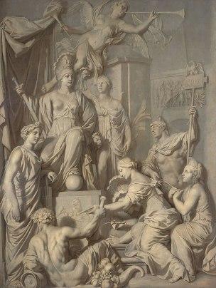 lairesse 1689 Allegorie de la Grandeur de Rome Museum Boijmans Van Beuningen Rotterdam
