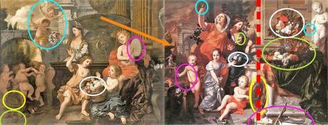 Lairesse 1668 ca Vanite des sens schema