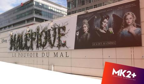 Maléfique : une affiche végétale installée à Paris