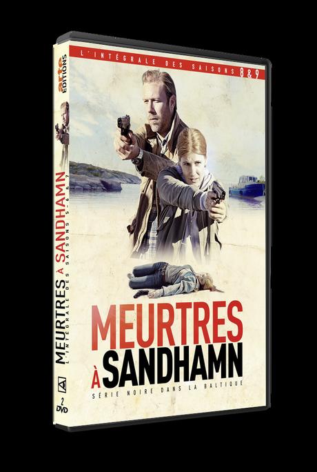 MEURTRES A SANDHAMN S8-S9 sort en DVD le 15 octobre, Remportez l'un des 3 Coffrets DVD en jeu sur TWITTER