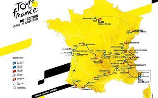 Cyclisme : le Tour prend encore de la hauteur