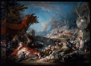 Boucher 1761 La halte aLa Source Museum of Fine Arts, Boston