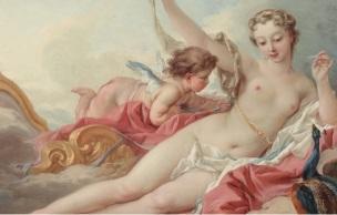 boucher venus se parant des attributs de Junon musee jacquemart Andre
