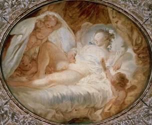 Fragonard A - Le feu aux poudres Avant 1778 Louvre