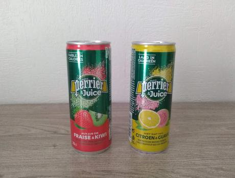 Lot de 2 boissons (PERRIER & JUICE)