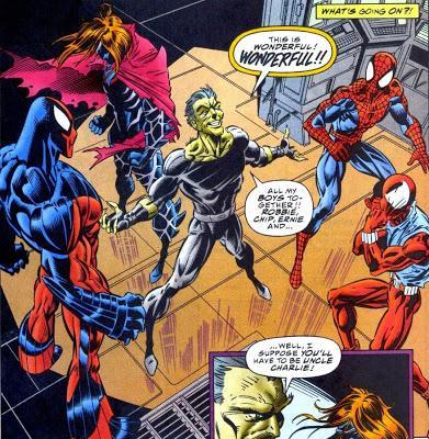 SPIDER-MAN DANS LES 90'S : LA SAGA DU CLONE EST DE RETOUR