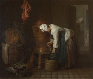Chardin Femme a la fontaine 1733 National Gallery Londres