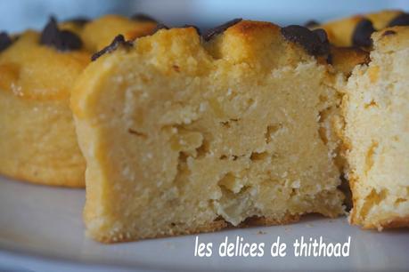 muffins polenta et pommes