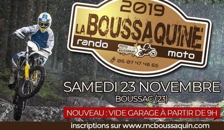 Rando Moto La Boussaquine 2019, le 23 novembre 2019 à Boussac (23)