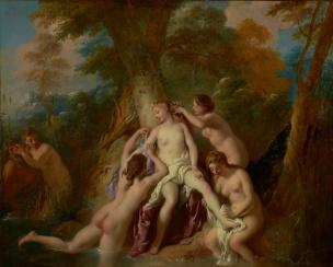 De Troy 1722-24 Diane et ses nymphes Getty Museum Malibu