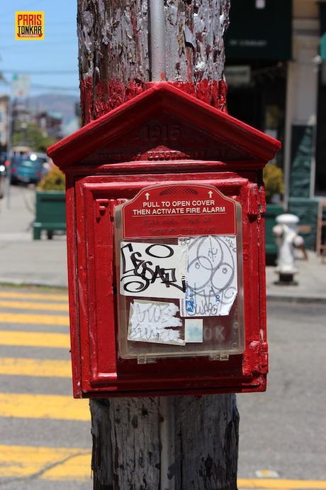 Graffiti à San Francisco #1