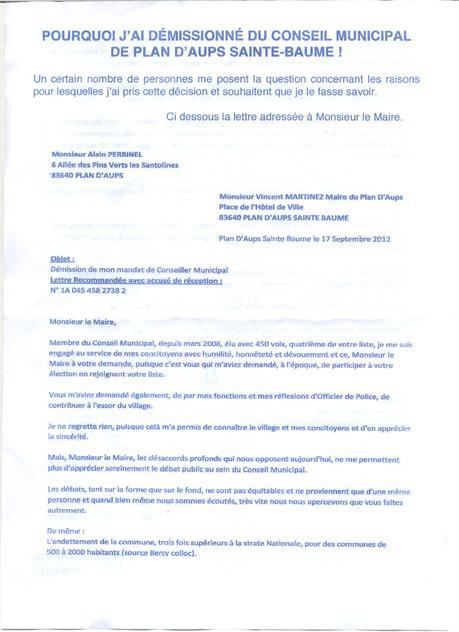 Télécharger - modele lettre de demission conseil municipal