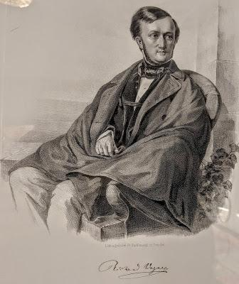 Richard Wagner 1853 - Lithographie