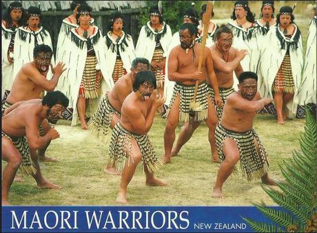 Maori le haka, danse traditionnelle au rugby