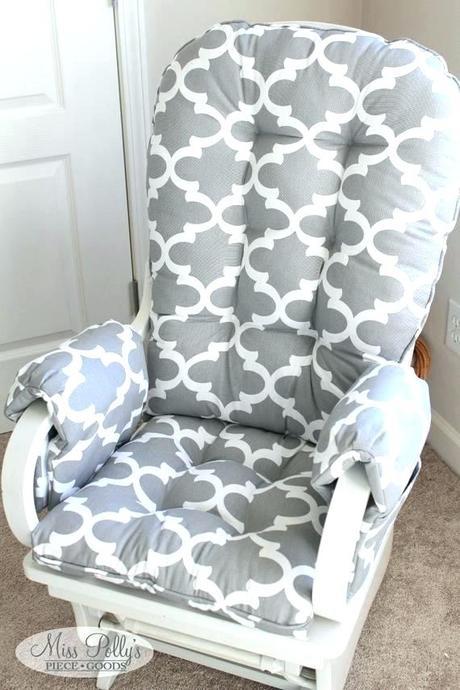 gray glider rocker gray glider rocker replacement cushions