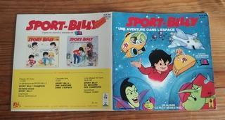 Livre-disque – Sport Billy Une aventure dans l'espace
