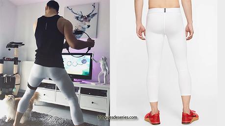 STYLE : PARIS ASMR en legging blanc