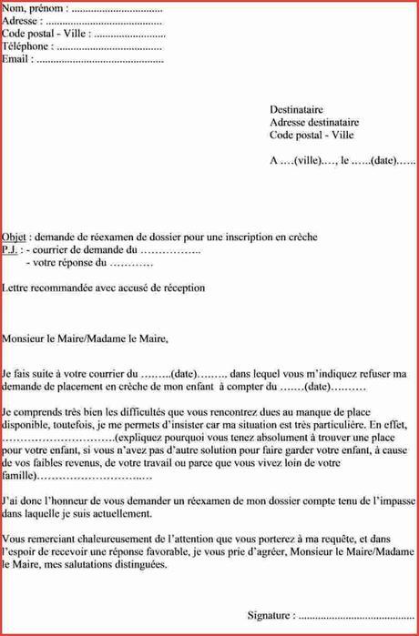 Lettre Demande De Logement social Inspirant Lettre Maire ...