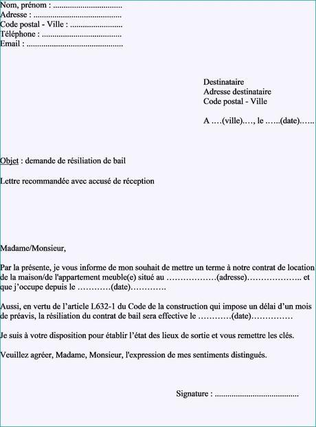 Nouvelle Exemple De Lettre Pour Demande Hlm | Thefurlas.co