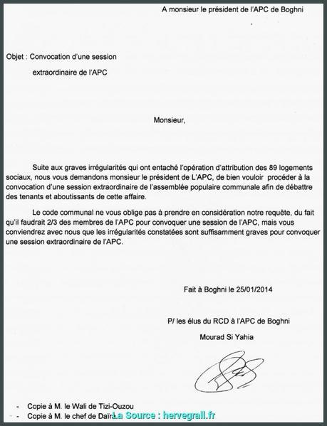 Exemple De Lettre Pour Hlm Nouvelle Local Modele De Lettre ...