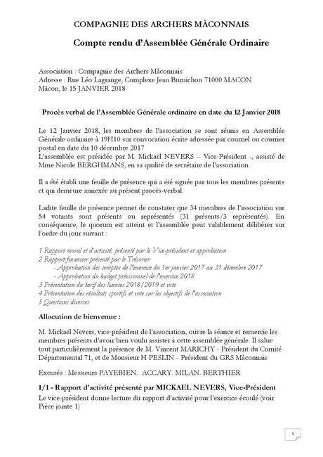 AG ORDINAIRE et EXTRAORDINAIRE du 18 JANVIER 2019 - Site des ...