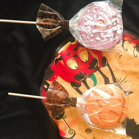 Halloween : Les Sucettes en chocolat Le comptoir de Mathilde