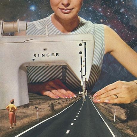 Les collages surréalistes et vintages de Vertigo Artography