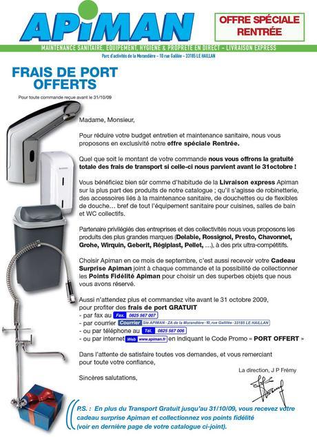 Mailing rentrée - agence de publicité CHOCOLAT NOIR