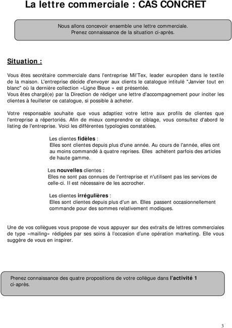 La lettre commerciale - PDF
