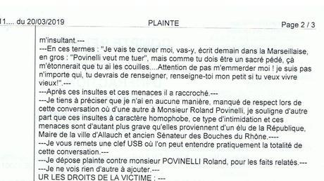 Marseille : le maire d'Allauch réagit après la plainte d'un ...