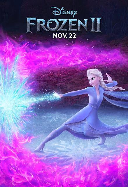 Affiches personnages US pour La Reine des Neiges 2 de Jennifer Lee et Chris Buck
