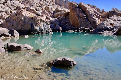 Le lac des 9 couleurs