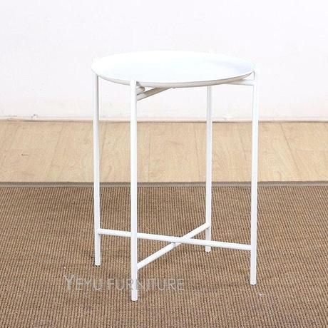 metal tray coffee table minimalist modern design loft style tray side table loft design metal side table tea table fashion simple design small table