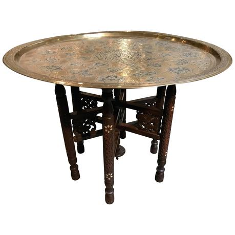 metal tray coffee table folding table with metal tray for sale