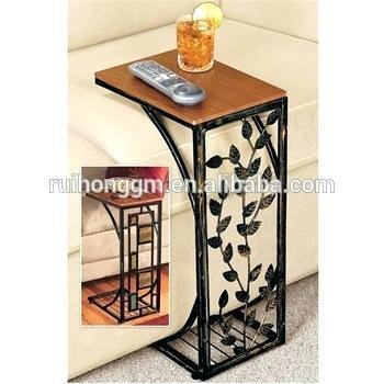 metal tray coffee table living room vine leaf design metal sofa side end table accent tray coffee table
