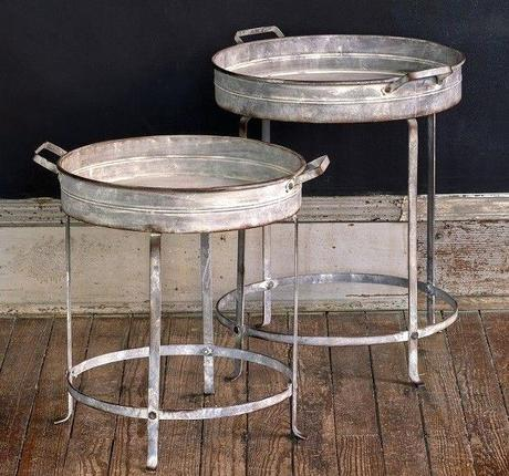 metal tray coffee table round tray table metal tray table small round table