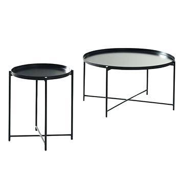 metal tray coffee table china side steel tray side table popular loft tea table