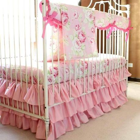 pink crib bedding pink camo girl crib bedding