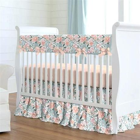 pink crib bedding light pink and grey crib bedding