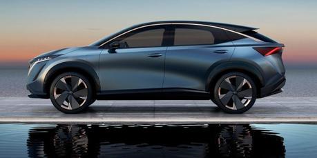 Nissan Ariya Concept: mélodie stylistique