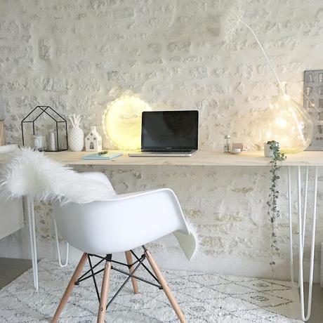 Inspiration déco : un bureau DIY