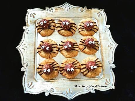 Des biscuits araignées effrayants pour célébrer Halloween
