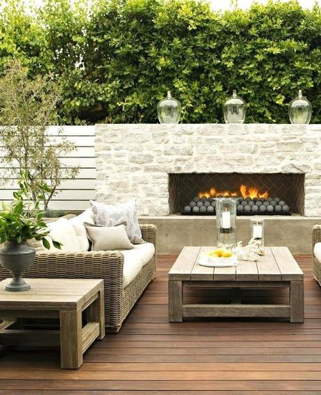 coffee table fireplace outdoor i like this vs a fire pit that sit around this way you have a table to set things on and can avoid smoke with a wind shift