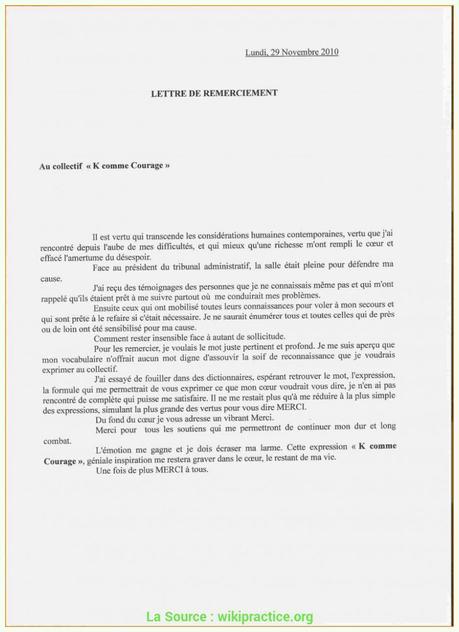 Lettre Acceptation Stage Paperblog